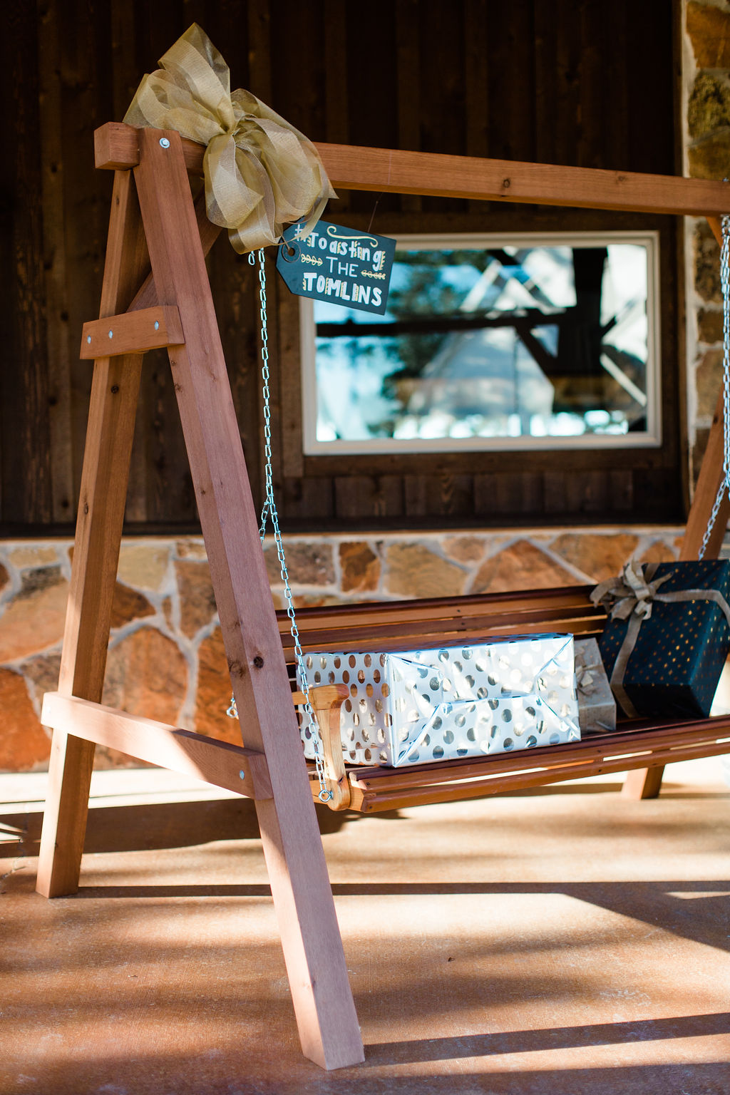 Personalized Swing | Houston Weddings