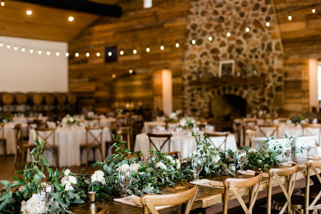 Greenery Garland | Texas Winery Venues | Wedding Planners Houston