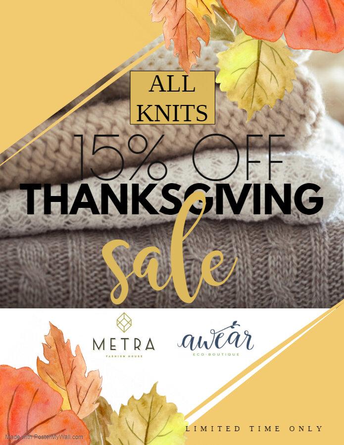 Thanksgiving Knit Sale.jpg