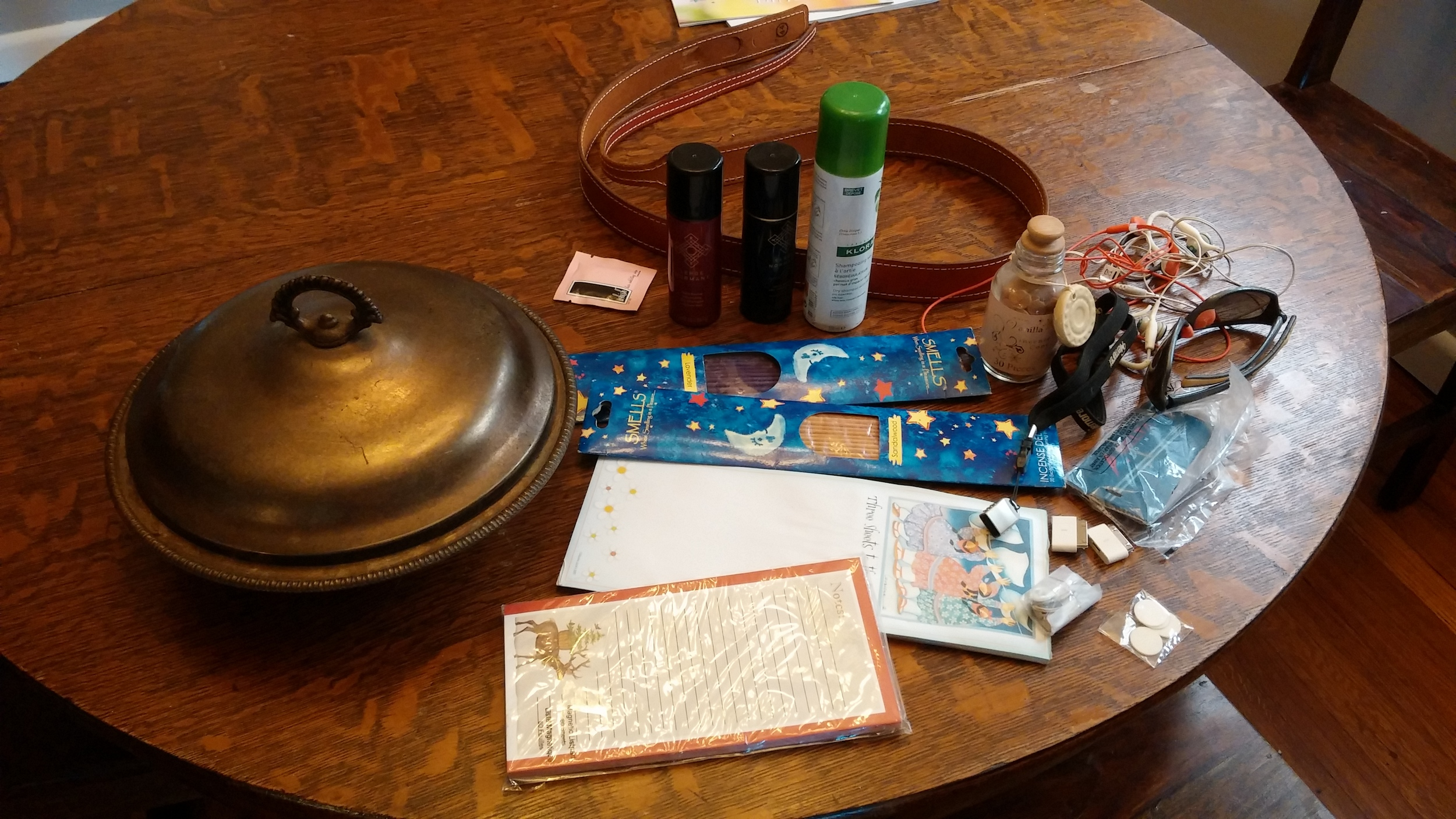 Free to good home: miscellaneous junk