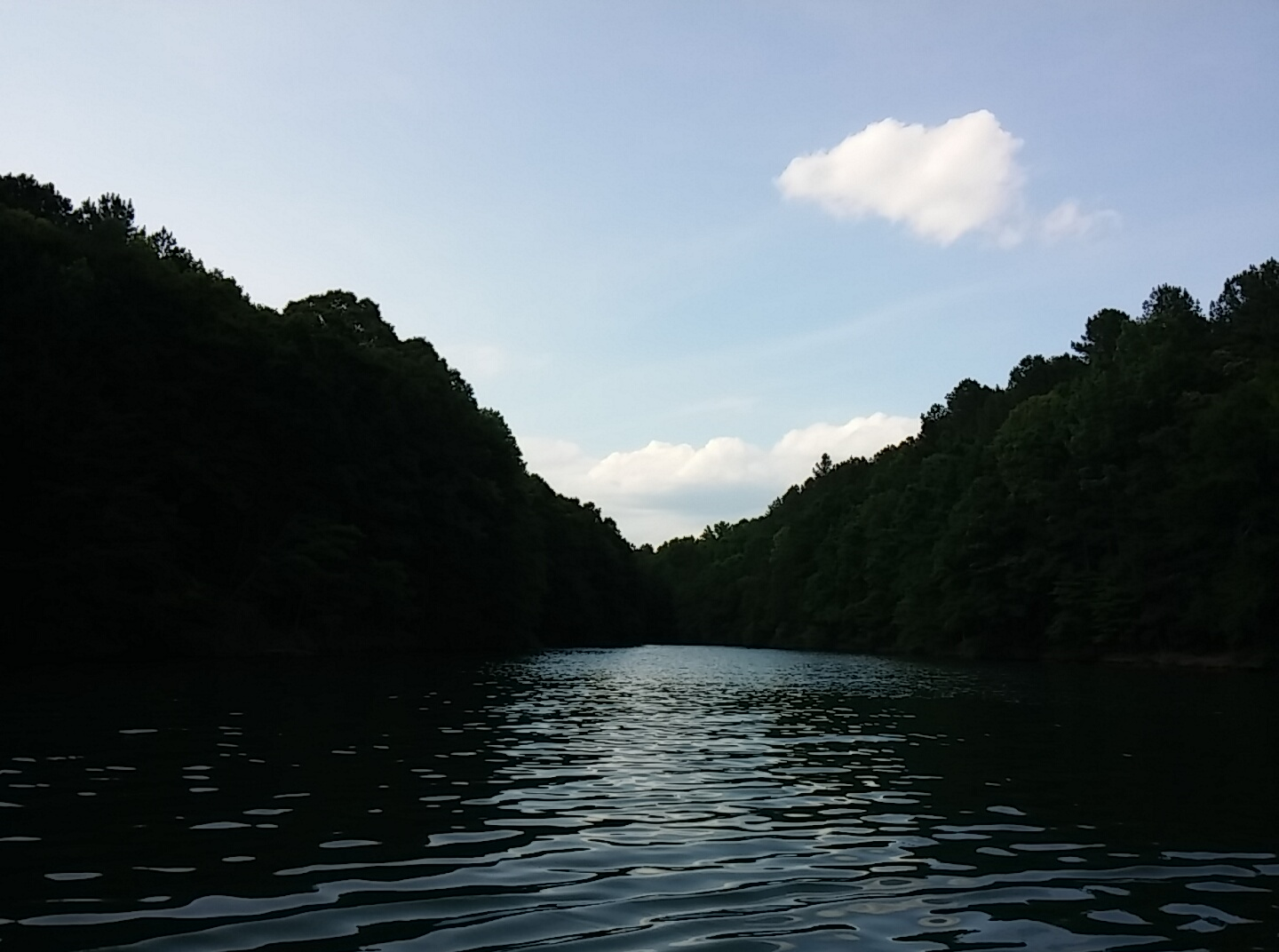 21. Peaceful coves on lakes