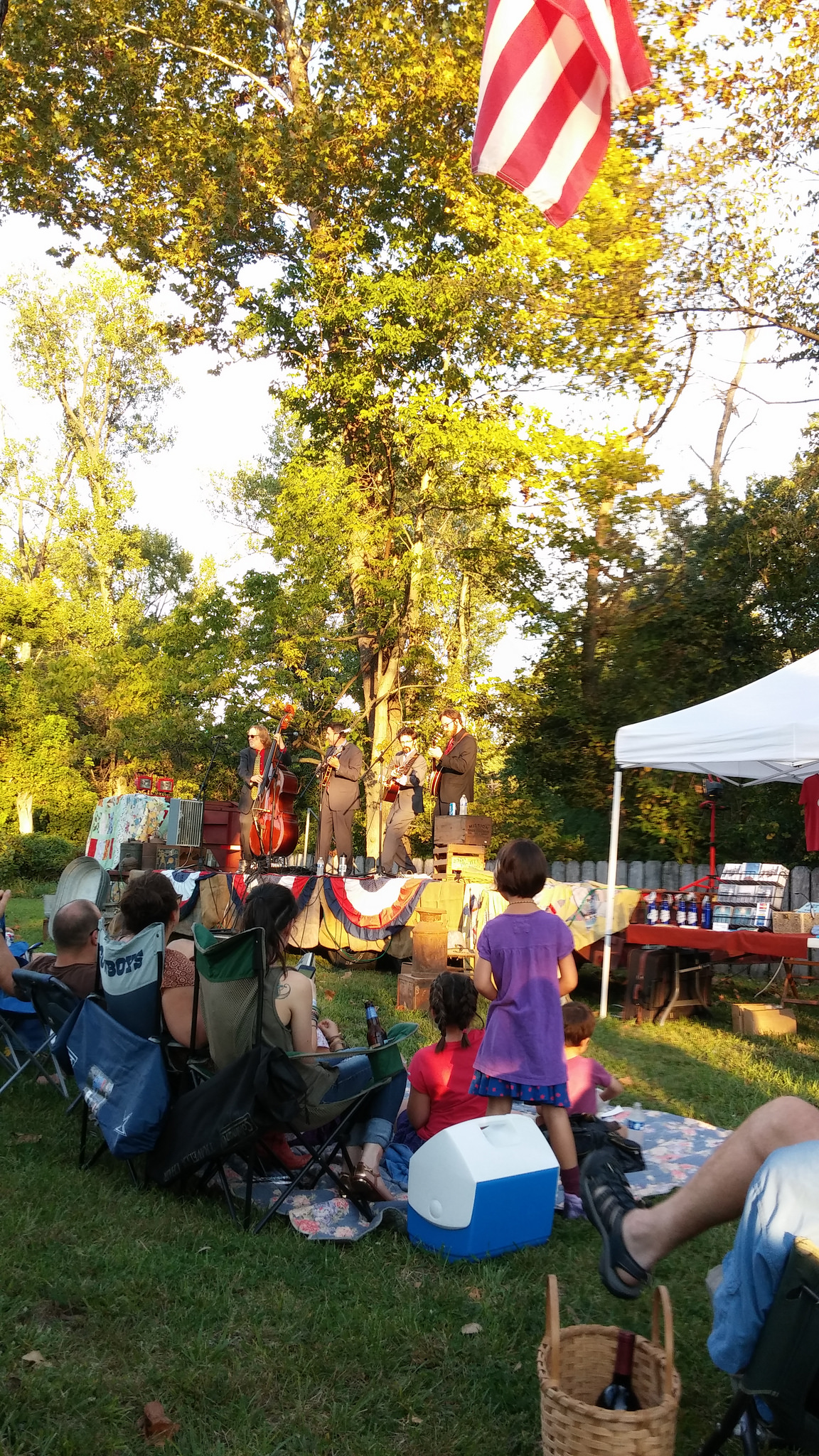 Blue Canyon Boys performing in Labadie, Missouri