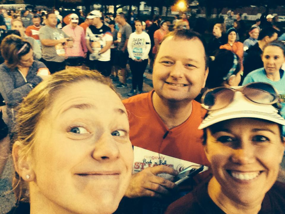 Before the race on Sunday (Photo credit: Samantha Klotz)