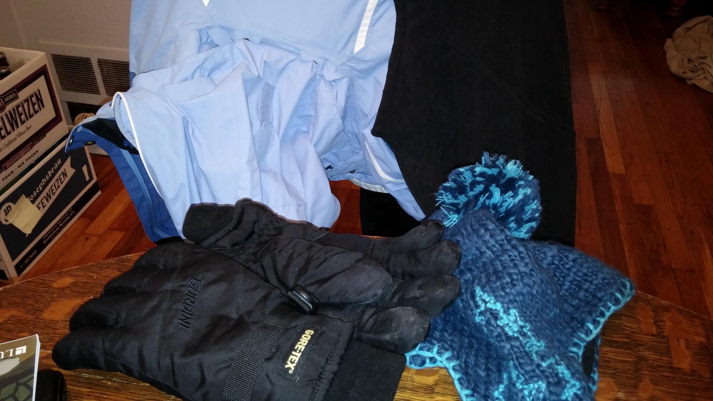 So much stuff to wear!