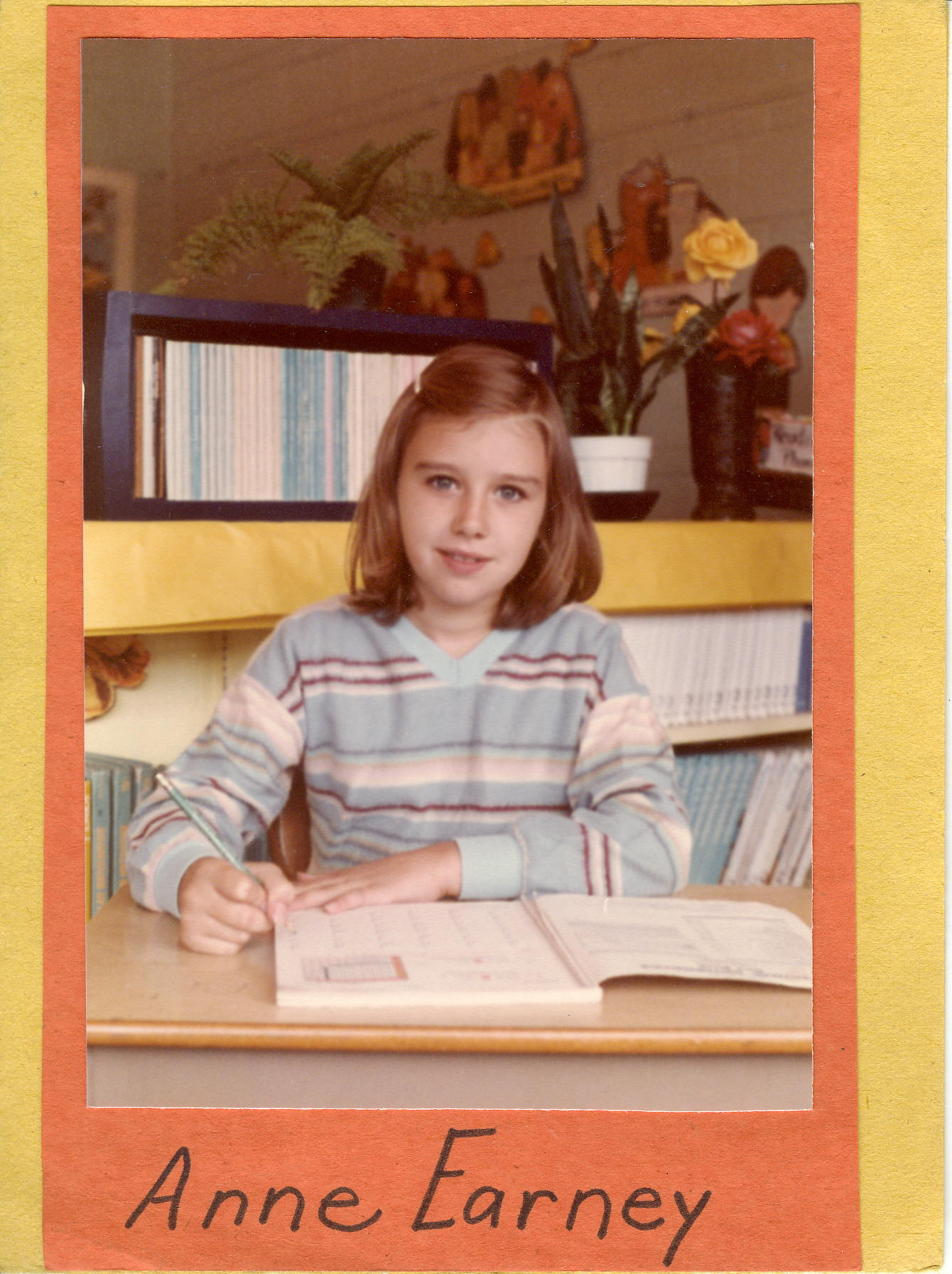 Here I am learning stuff in the 2nd grade.