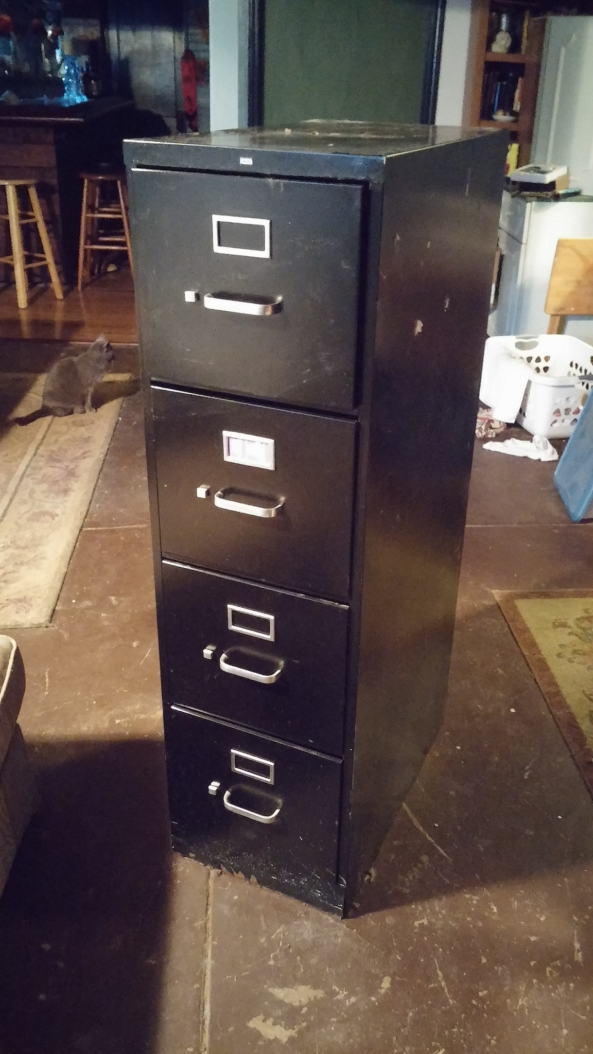 Buh-bye filing cabinet!