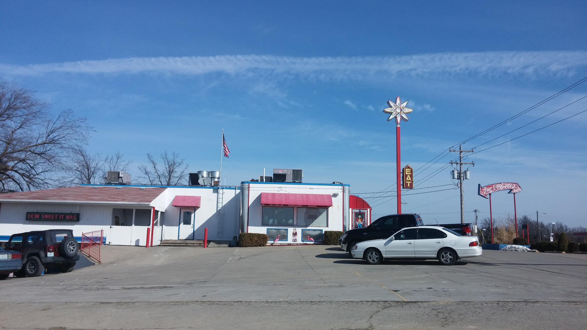 "Nothing says ""middle Missouri"" quite like a diner in the middle of nowhere."