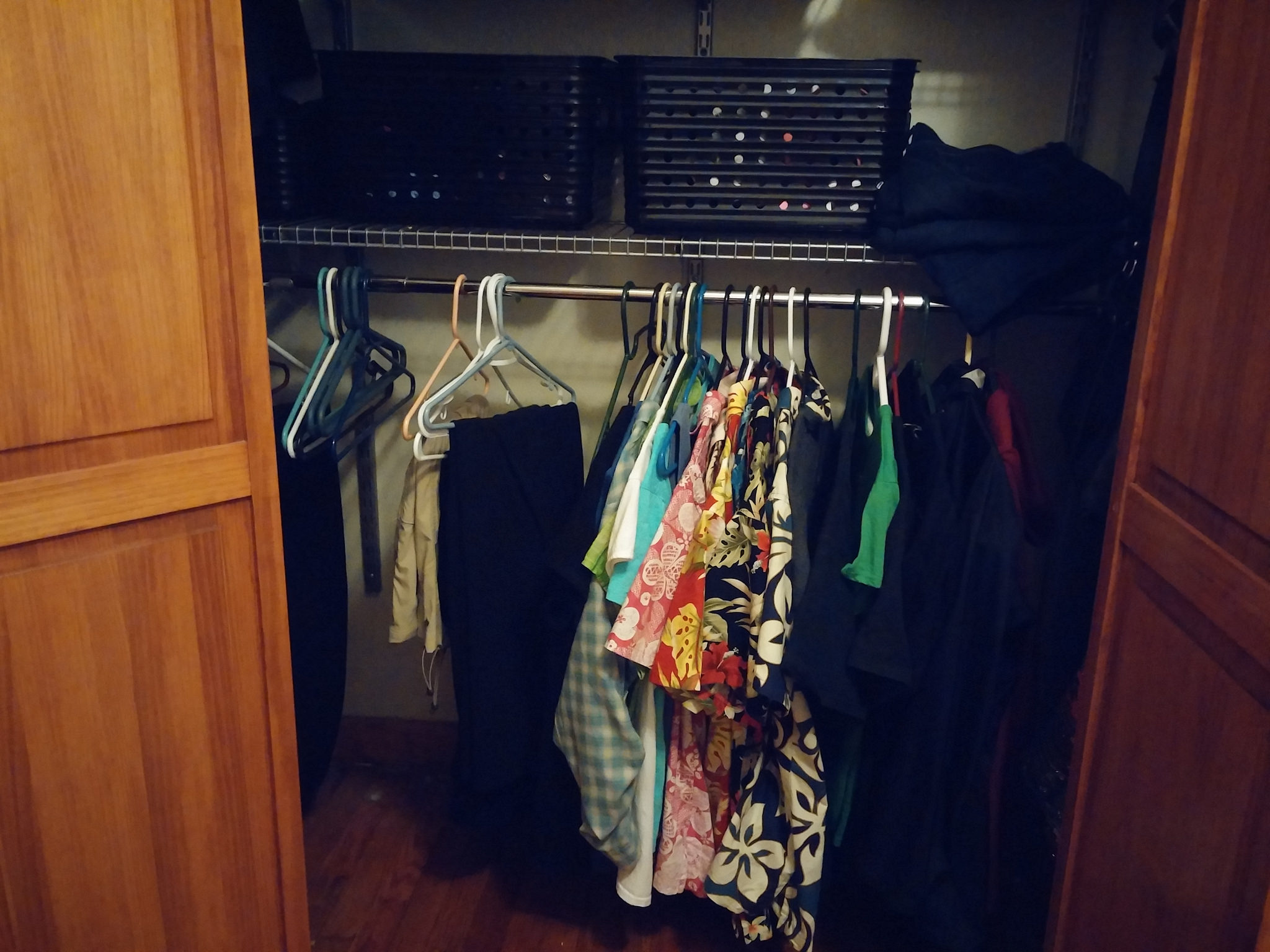 All my clothing!