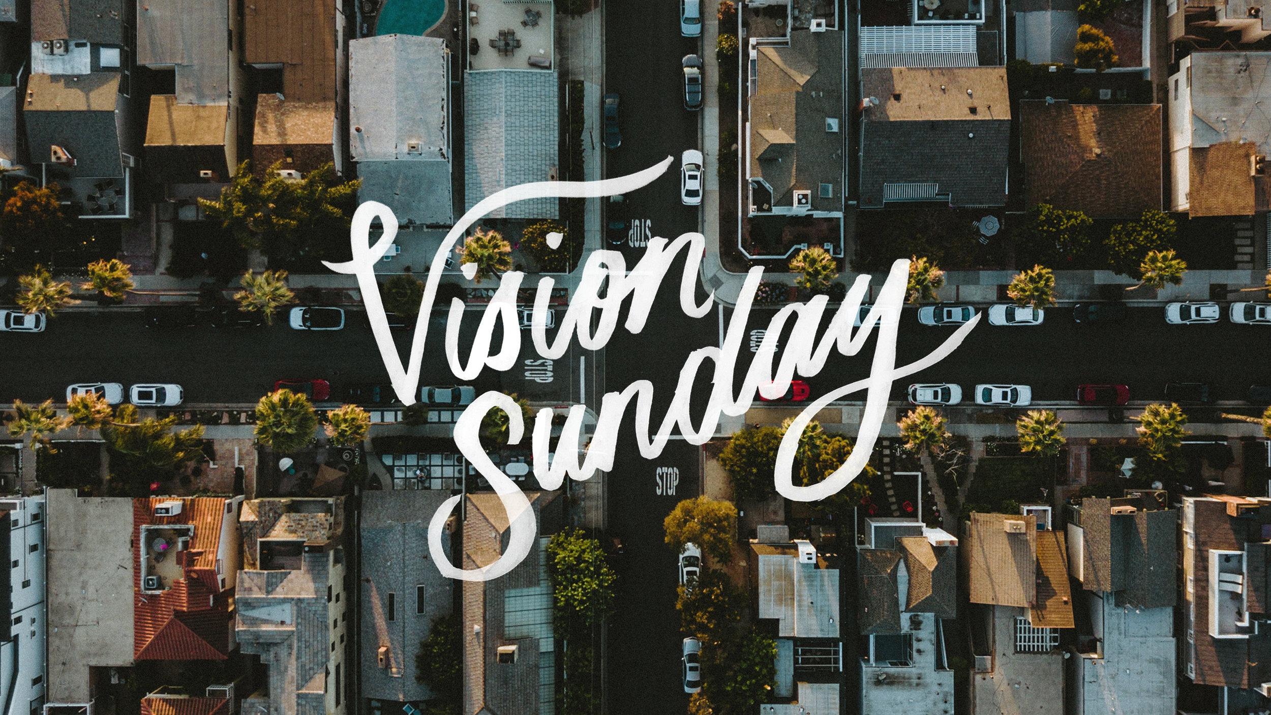 Vision Sunday - Title