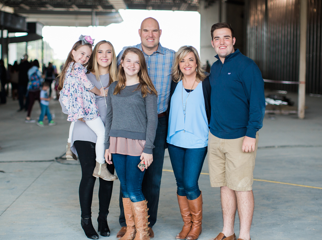 Pastor Jeff Little and Family