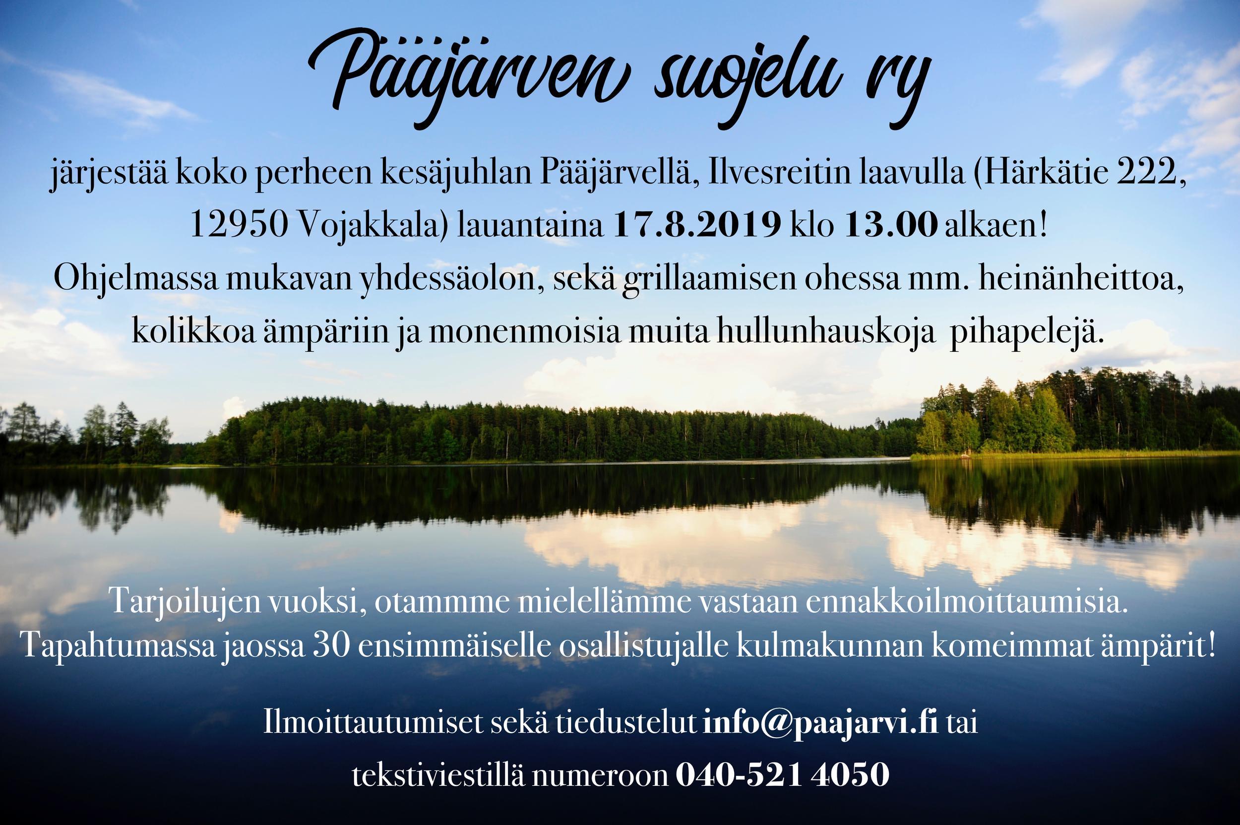 Kutsu Pääjärven suojelu ry kesäjuhlaan.png