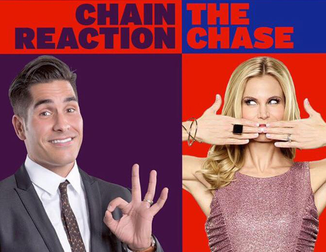 """Chain Reaction""  and  ""The Chase."""