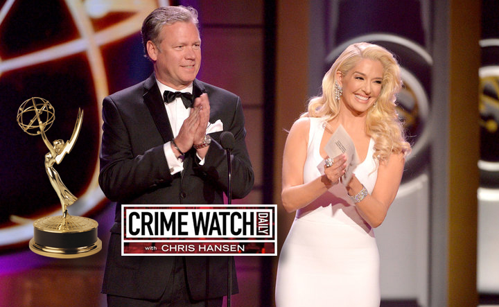"Congratulations to Chris Hansen and  ""Crime Watch Daily""  for their 2017 Daytime Emmy Award win!"