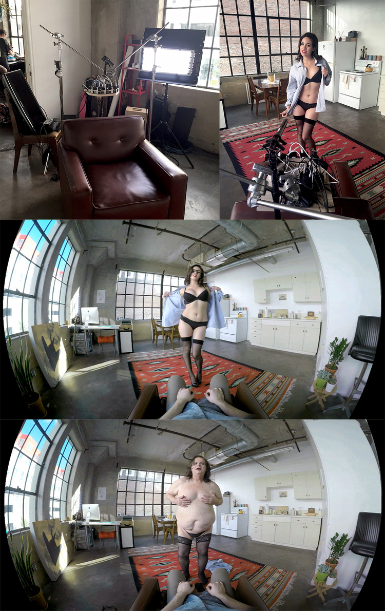360 Porn Demo vr strip girlz - comedy prank video — lex halaby