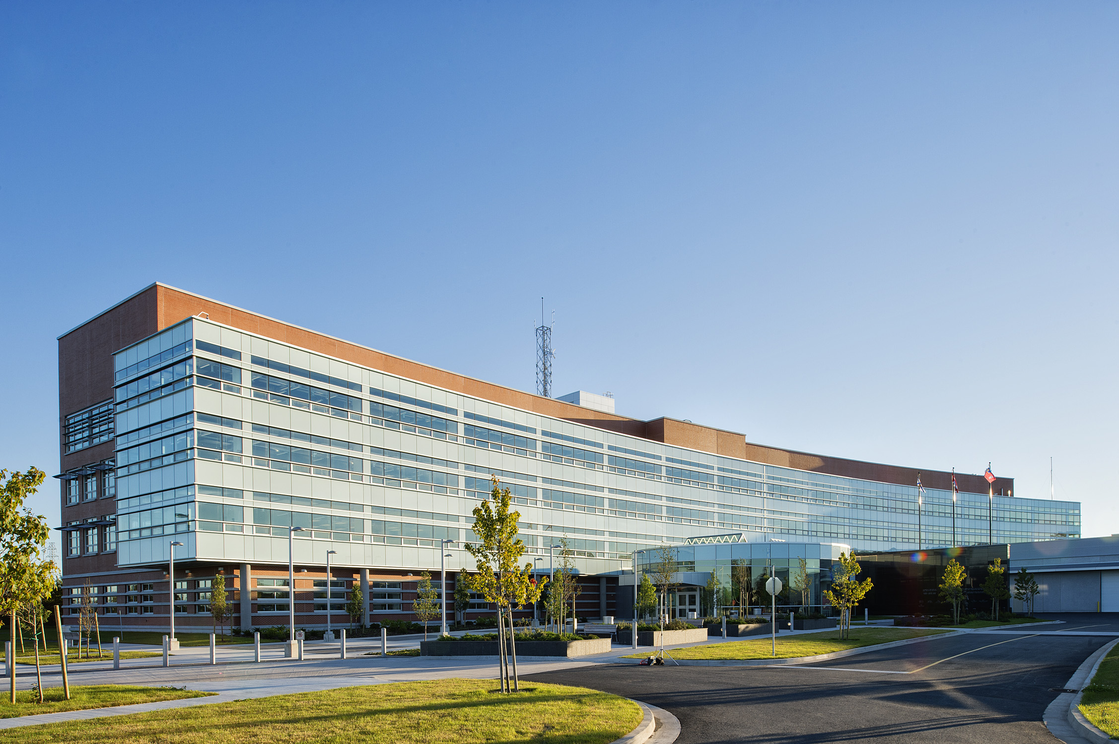 RCMP Division 'H' Headquarters -  Click for more information