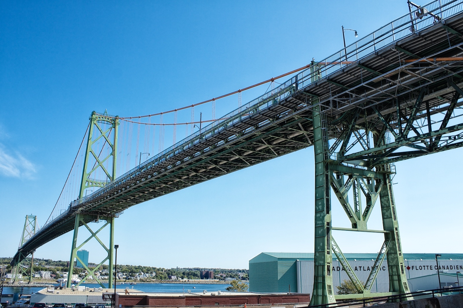 Angus L. Macdonald Bridge Suspended Spans Deck Replacement  - Click for More Information