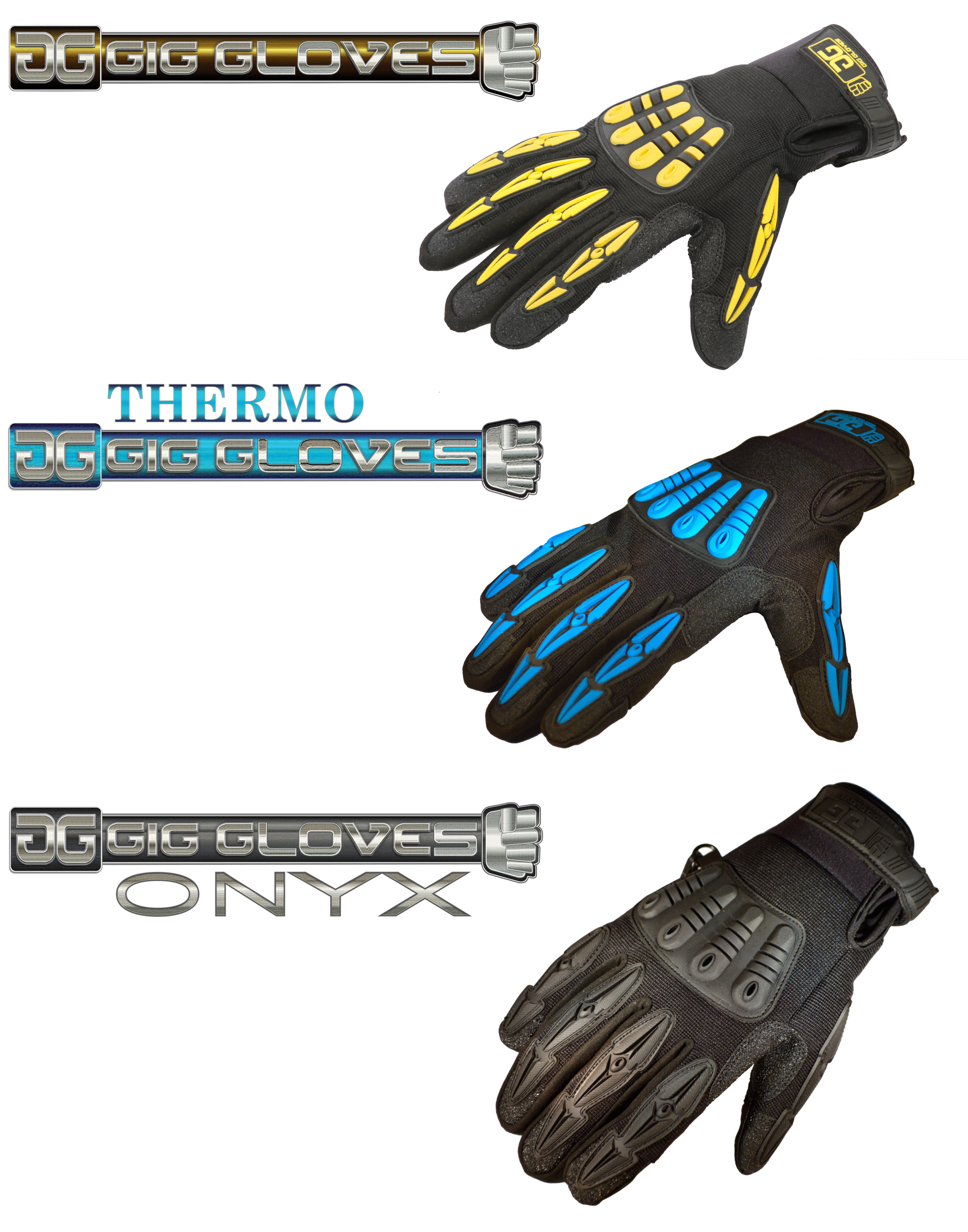 The Gig Glove family