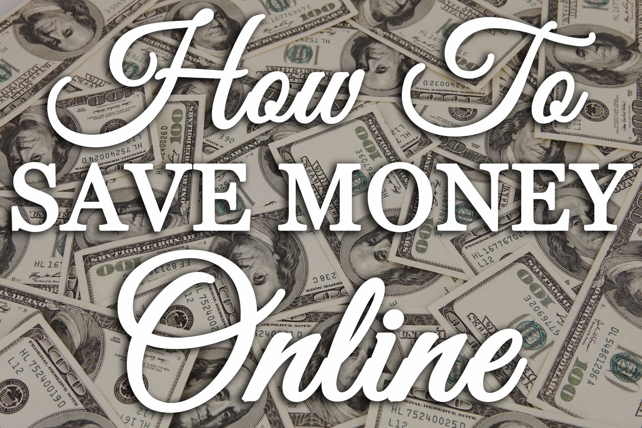 how to save money online