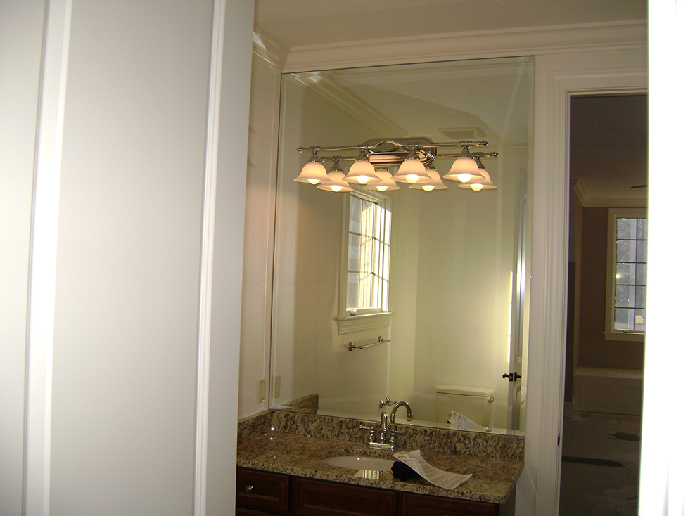 Full Vanity Mirror with Bevel