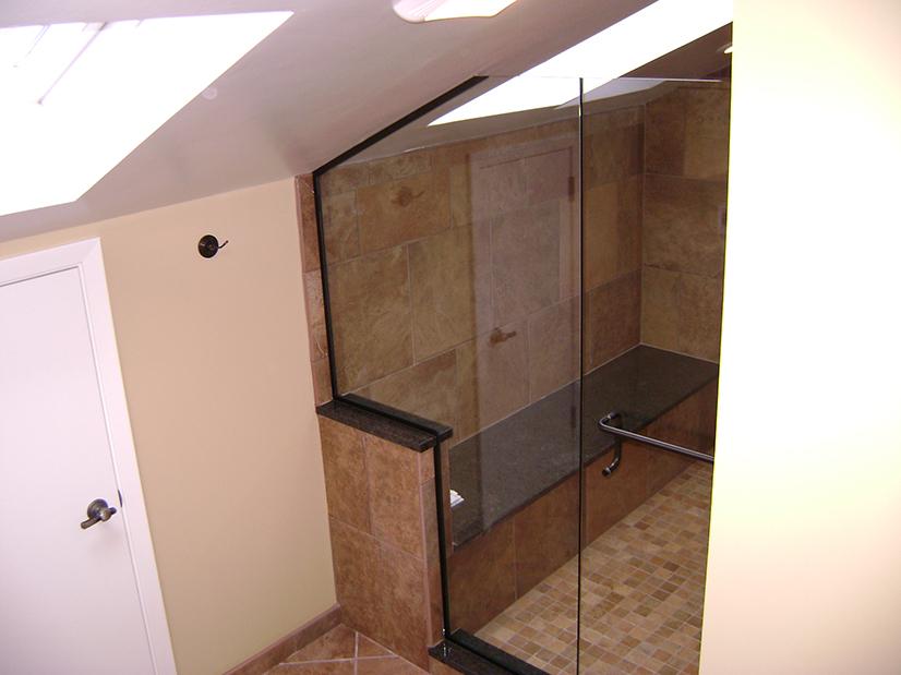 Custom Clipped Corner Panel with Euro Door