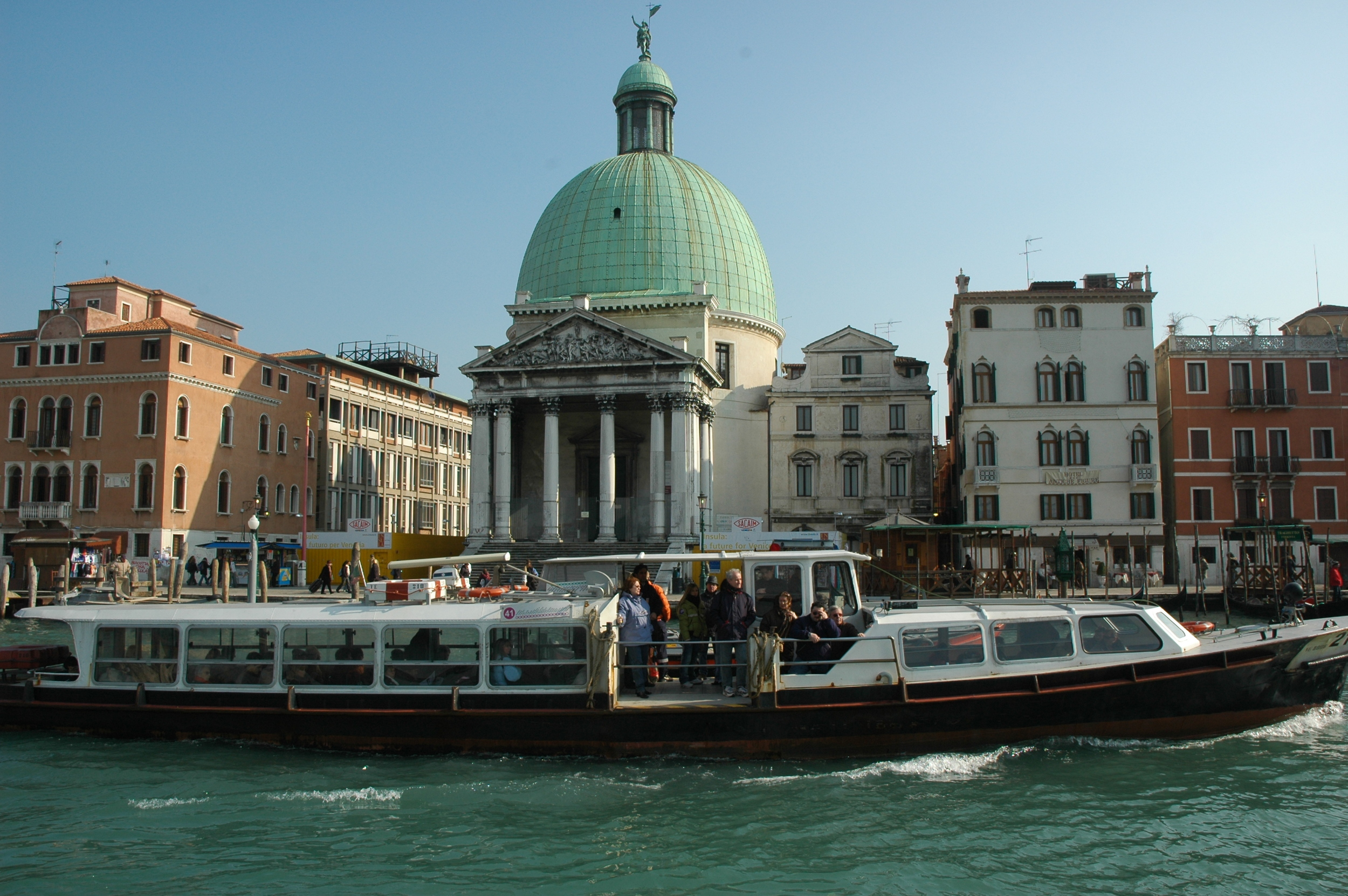 Typical Venetian Water Taxi