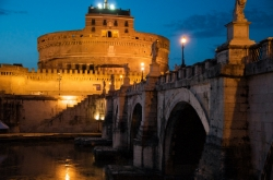 Castel Sant'Angelo at Twilight
