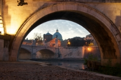 View of St. Peter's from the Tiber