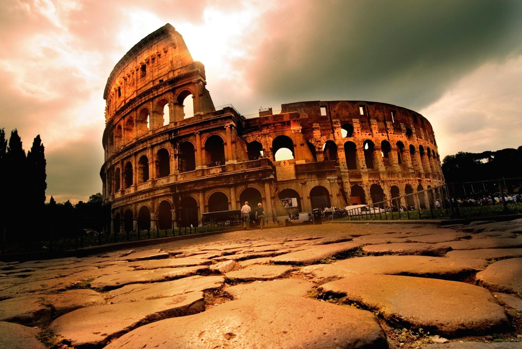 The Coliseum in Morning Light