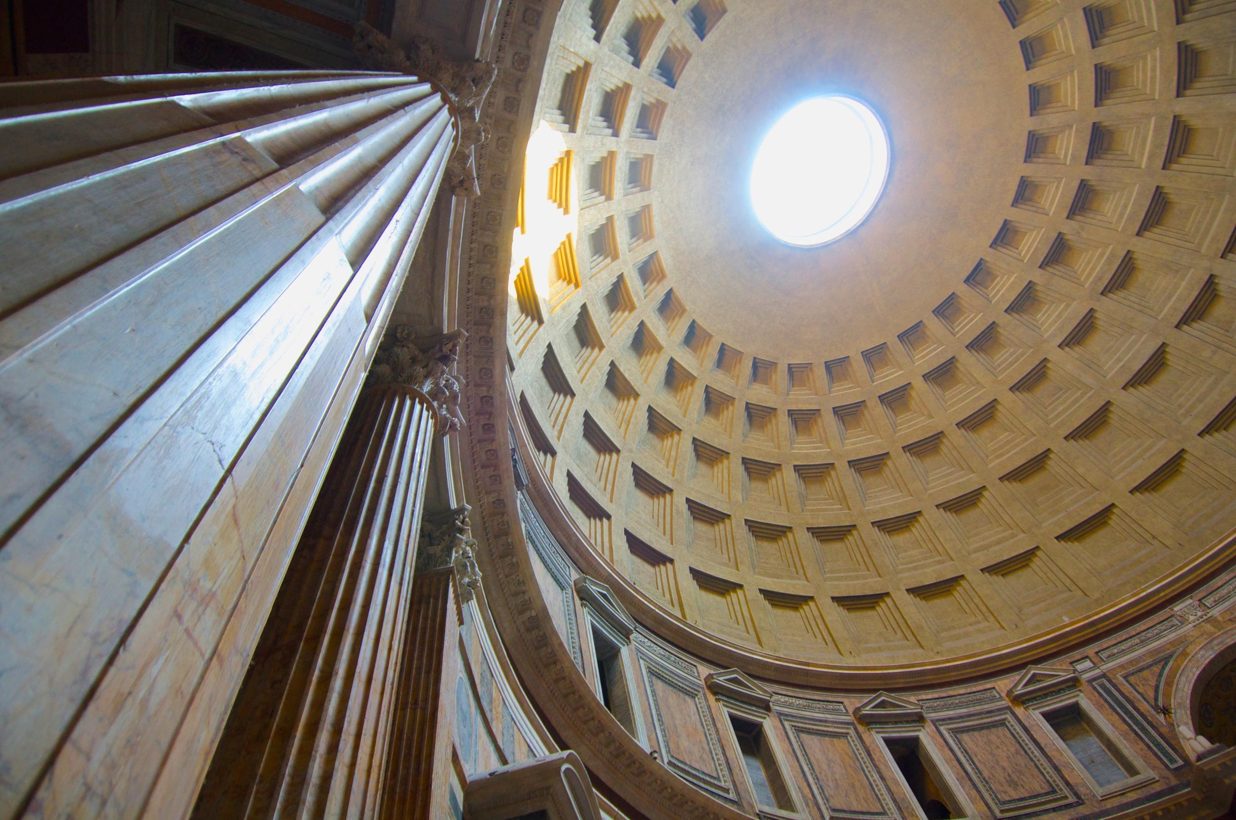 The Pantheon Interior & Oculus