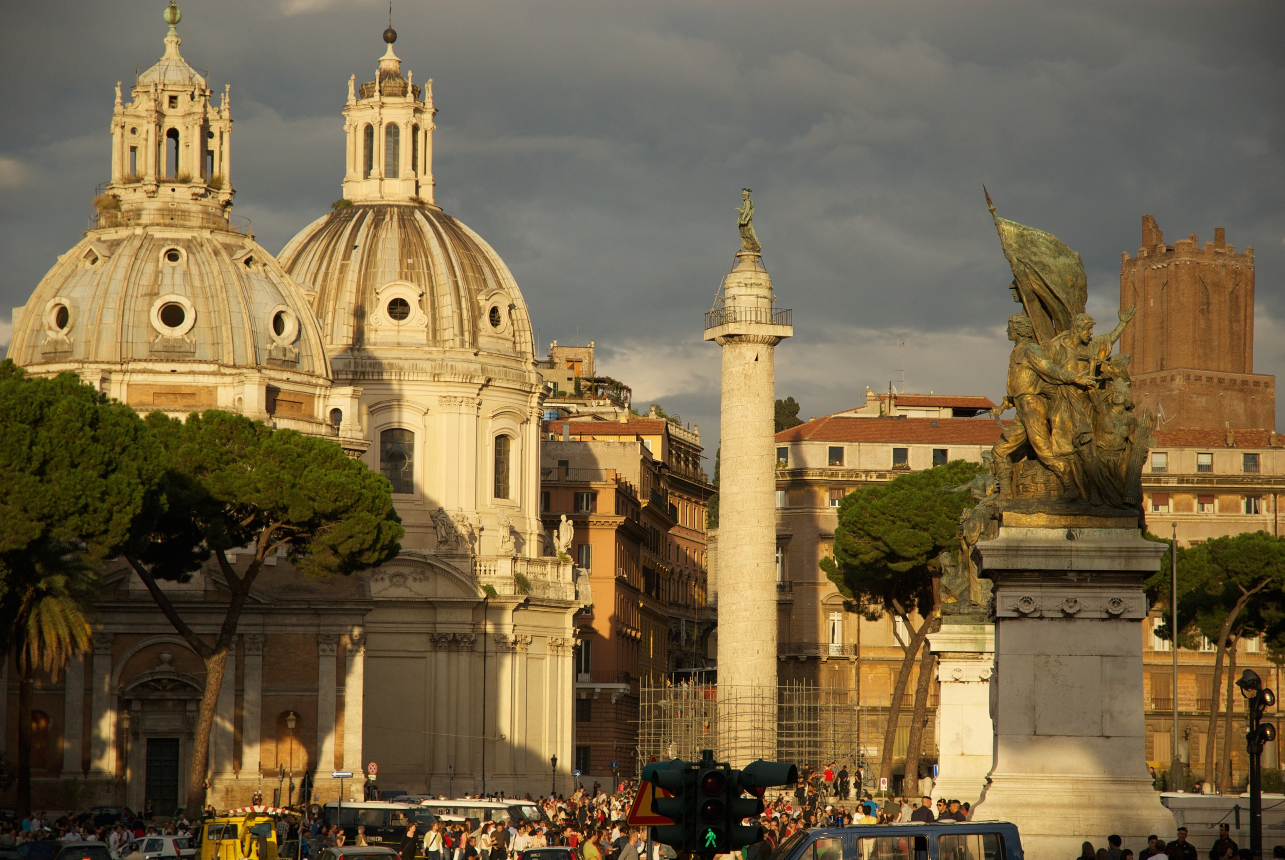 Afternoon Light in Rome