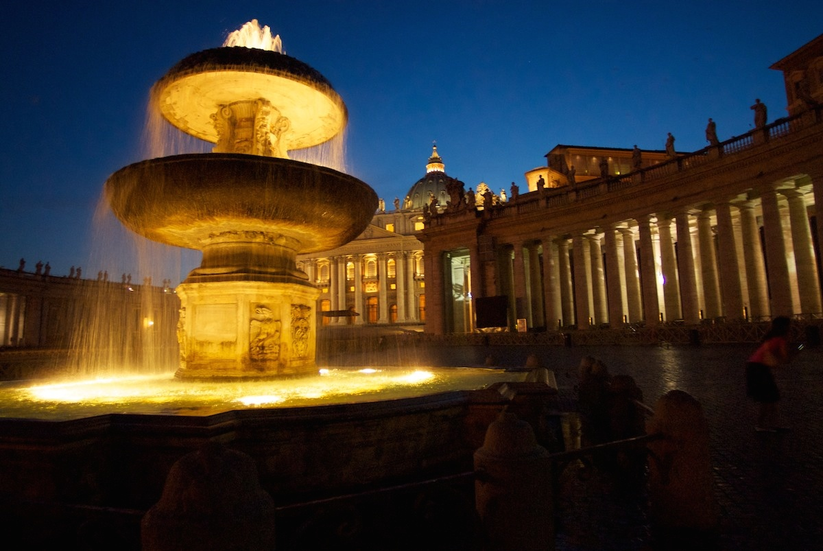 St. Peter's Square at Twilight