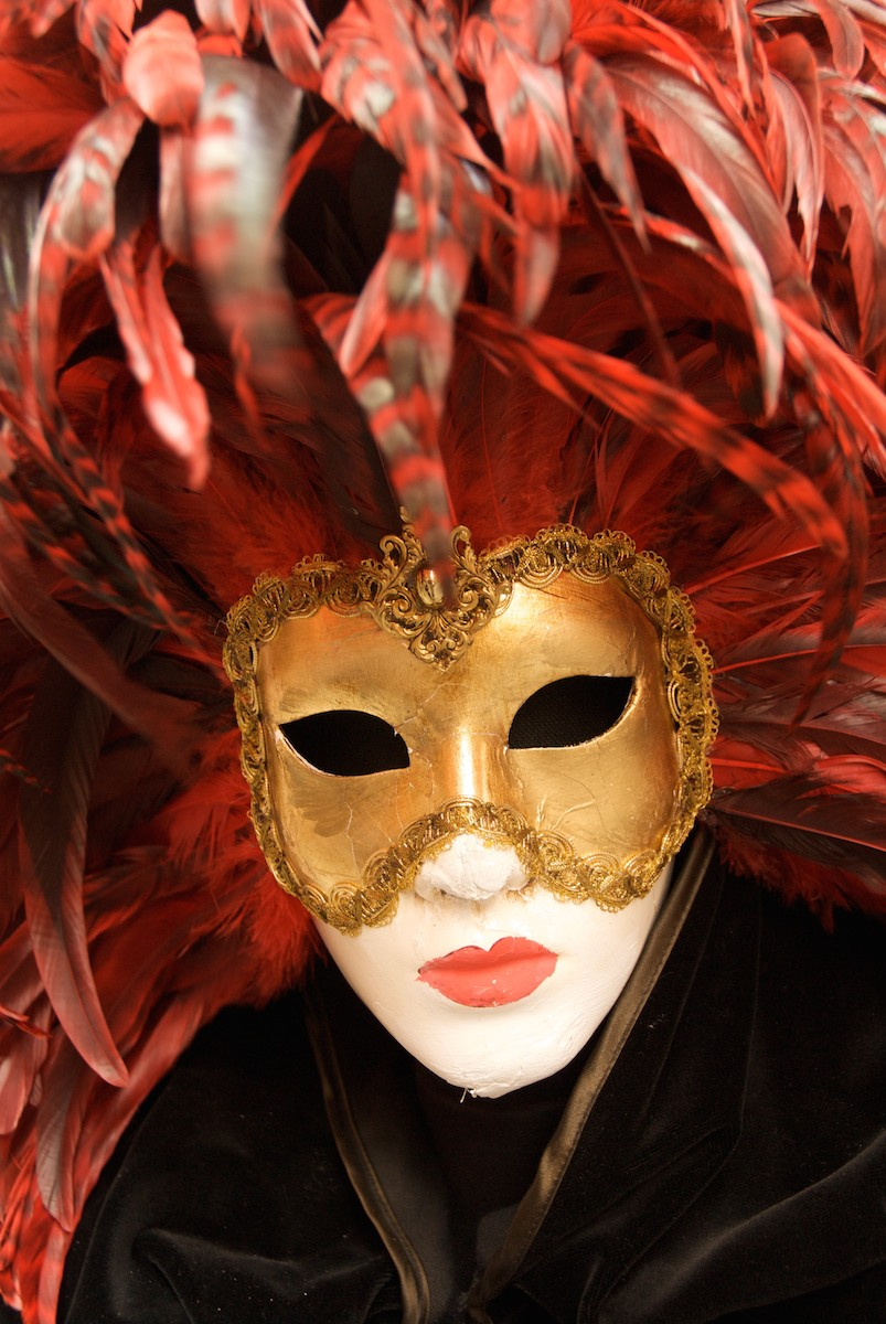 Carnavale Mask in Venice