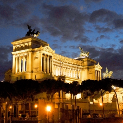 The Eternal City in Lights