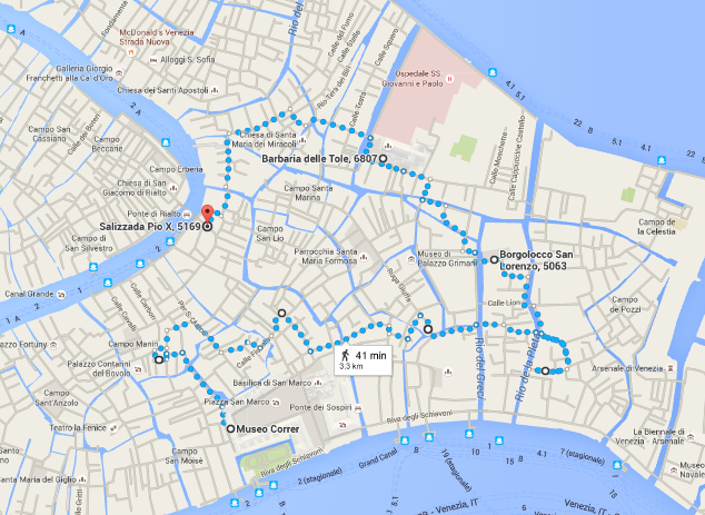 Click on the map for a larger interactive of the tour route
