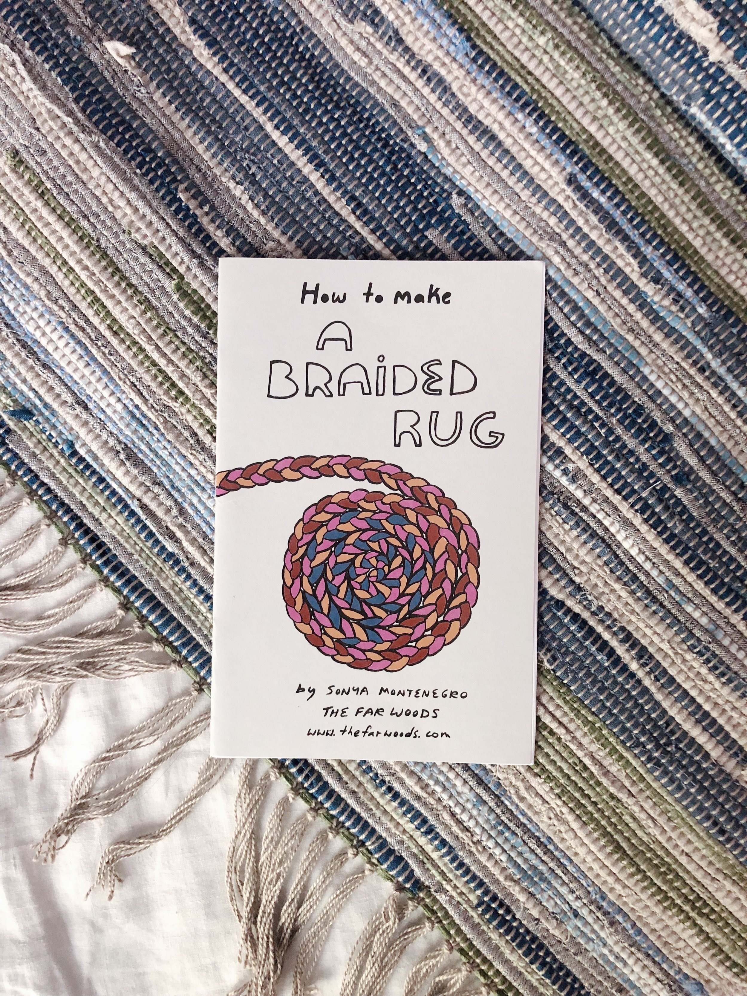 How To Make A Braided Rug Weaver House
