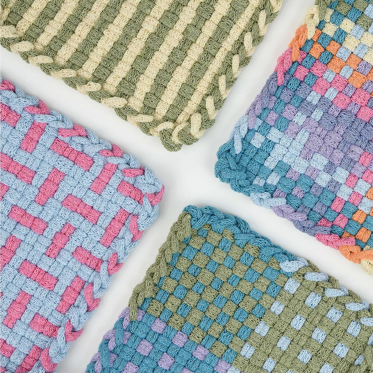 Potholder Loom Designs 140 Colorful Patterns Weaver House