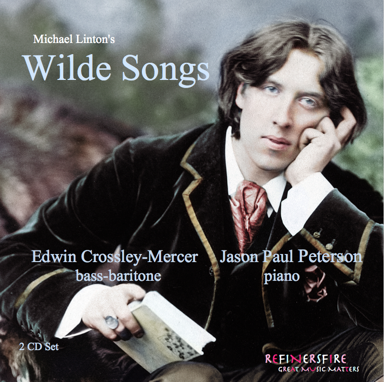 "Featured Release - Wilde was full of contradictions, and his poetry reflected it. ""Taedium Vitae"" denounces erotic love, reviling the lust that ""stab[s] my youth with desperate knives."" And indeed, Linton's steady vocal line comes under assault from a pointillistic battery in the piano part. Crossley-Mercer's voice impressively traverses the gradations of temptation and resoluteness.~ From Opera News 2019. Joshua Rosenbaum"