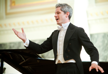 CLEVELAND CLASSICAL -  On Tuesday, May 24, French baritone Edwin Crossley-Mercer and pianist Jason Paul Peterson opened the 2016 edition of the Baldwin Wallace Art Song Festival with a recital in Gamble Auditorium. Now in its 30th year, the week-long festival, which focuses on the combination of solo singer and piano, is the brainchild of retired Cleveland Institute of Music voice professor George Vassos.