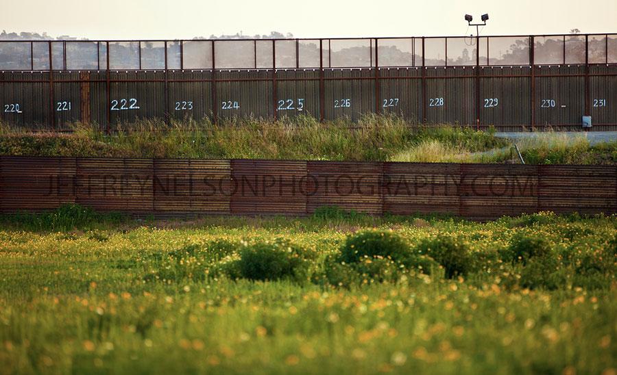 mexican border, border wars, jeffrey nelson photography, landscape