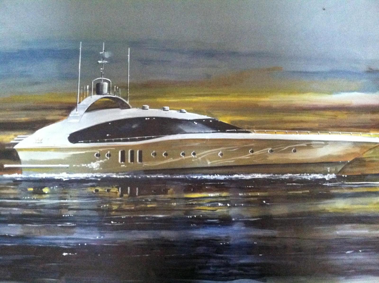 """Mega Yacht """"Cat Magic"""""""