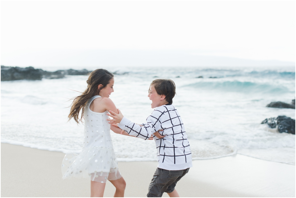 Maui Family Photos at Ironwoods Beach Kapalua