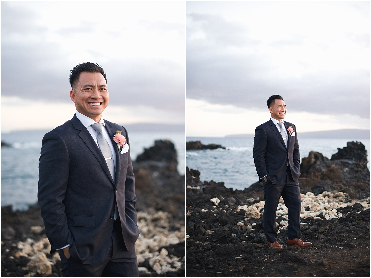 Romantic Maui Oceanfront Wedding at Kukahiko Estate