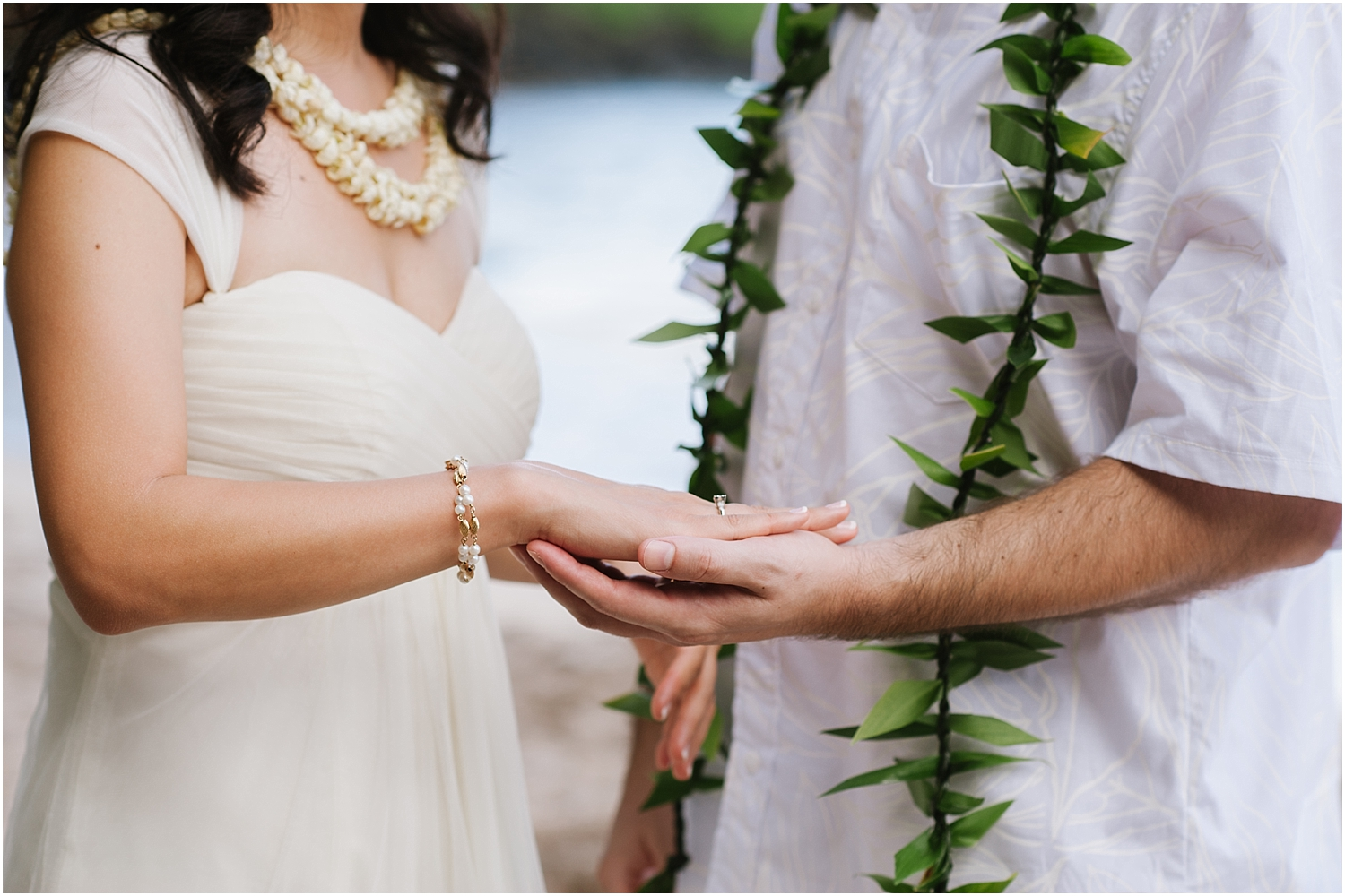 Maui elopement at Hamoa Beach in Hana