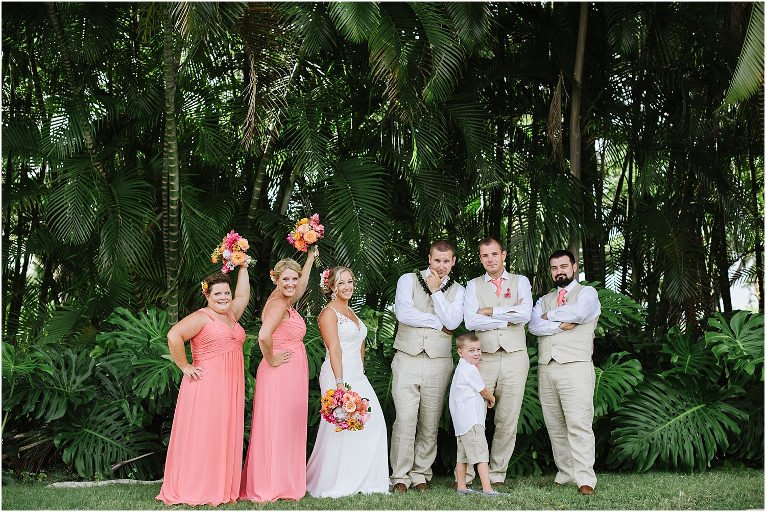 Maui Destination Wedding at Gannon's in Wailea, Hawaii
