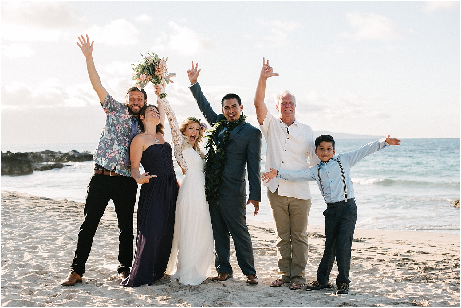 Maui Elopement by Naomi Levit Photography at Ironwoods Beach in Kapalua, Hawaii