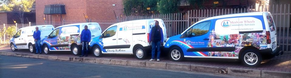 """The """"Wheels that deliver the Meals"""" -Mr Justin Mangan (Peugeot Pinetown)"""