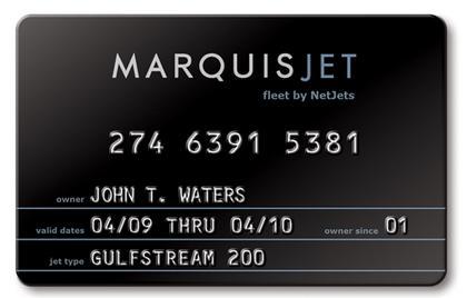 Marquis Jet Card fleet by NetJets