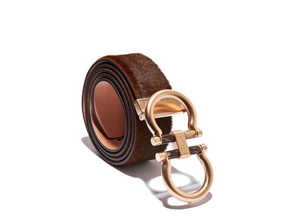 Double Gancini Belt Buckle