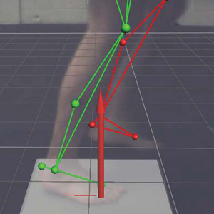 Motion Study for Gait Analysis