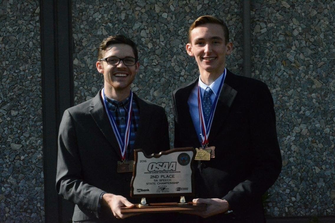 State champions Anthony Ross & Tyler Whittaker